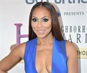 """Tamar Braxton is leaving """"the real""""."""